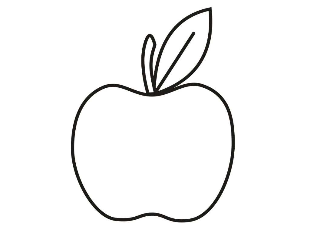 Apple Shape Clipart