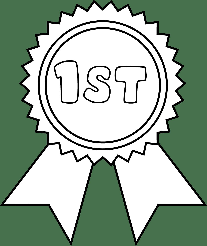 Award Ribbon Outline