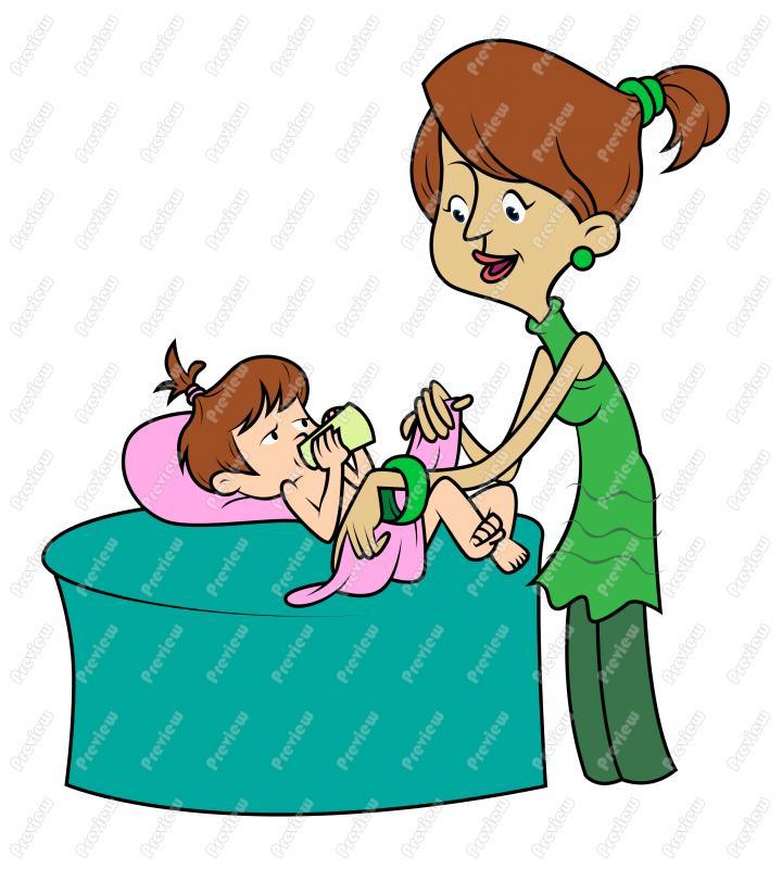 Baby Diaper Clipart