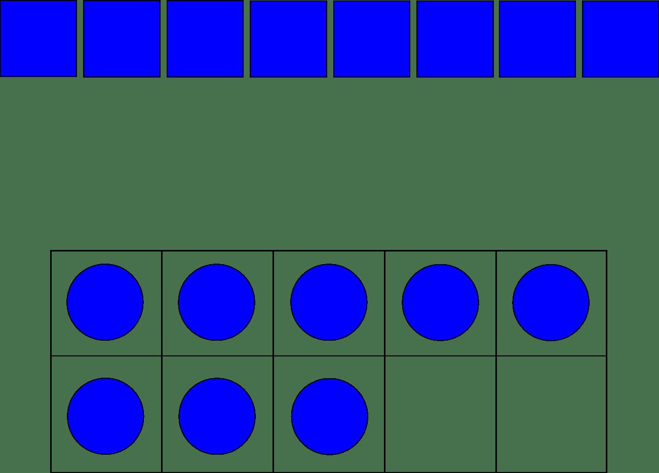 Base Ten Blocks Clipart