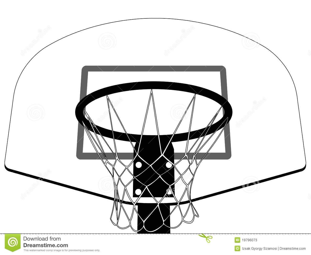 Basketball Hoops Clipart