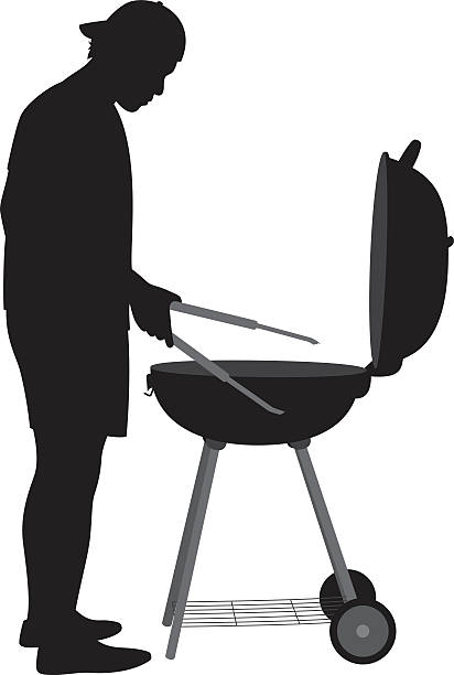 Bbq Clipart Black And White | Free download on ClipArtMag (412 x 612 Pixel)