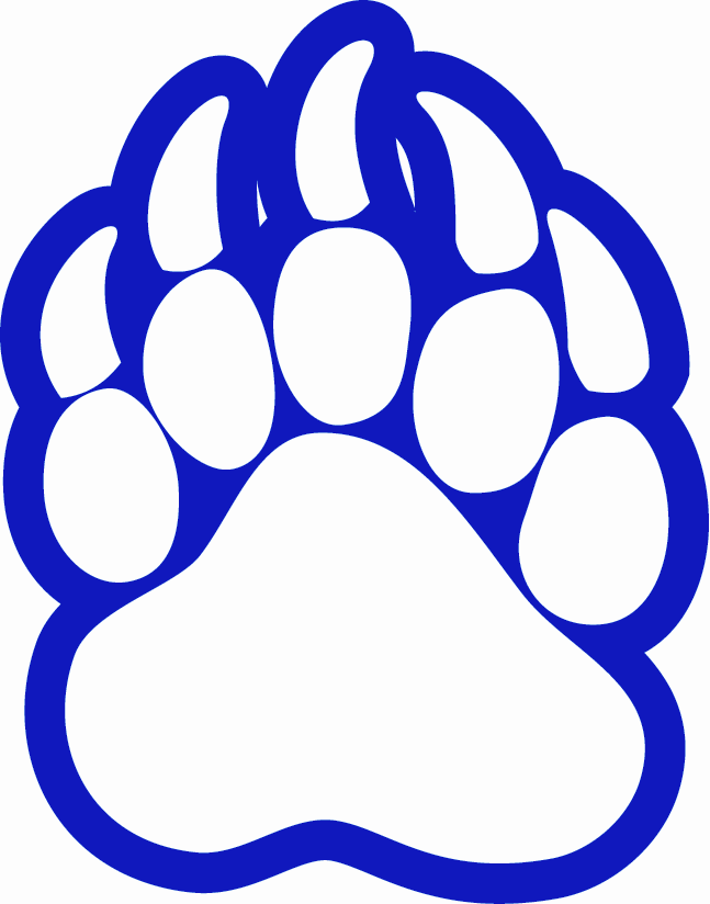 Bear Paw Print Clip Art