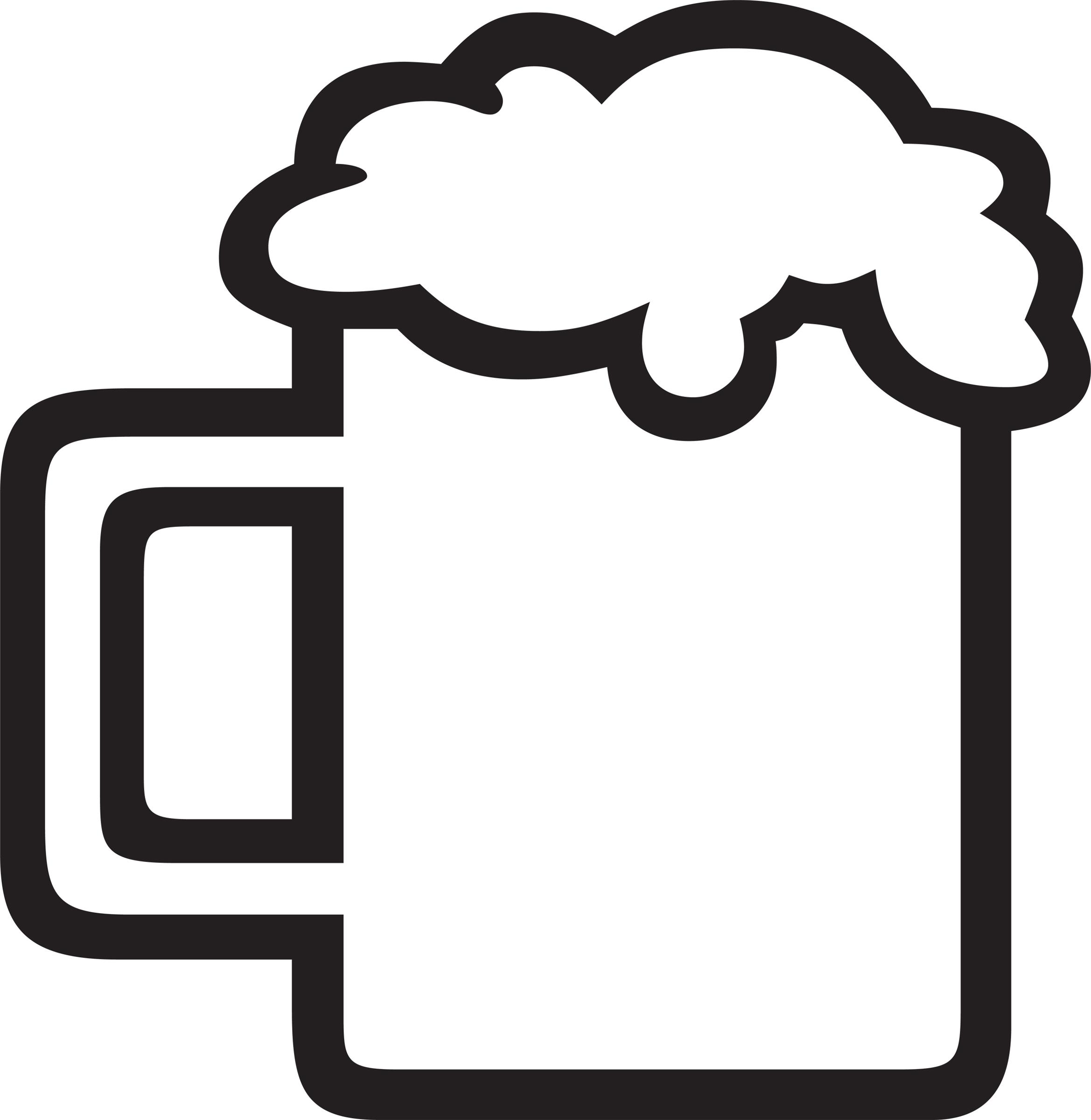 Beer Clipart Black And White