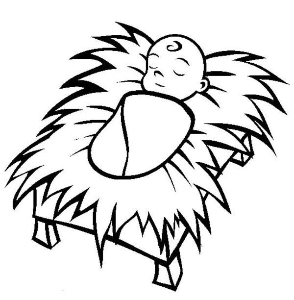 baby jesus coloring page # 66