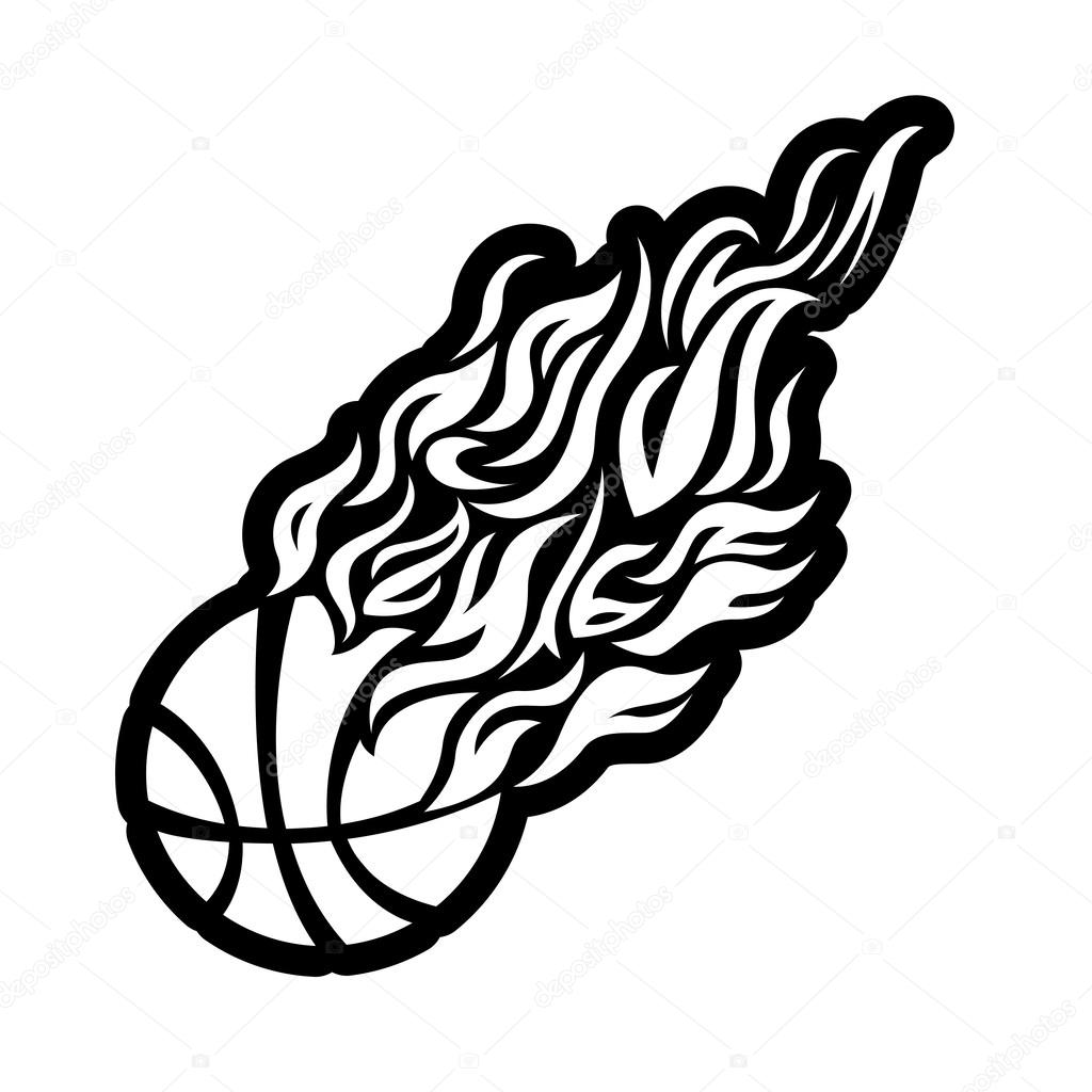 Black And White Flame