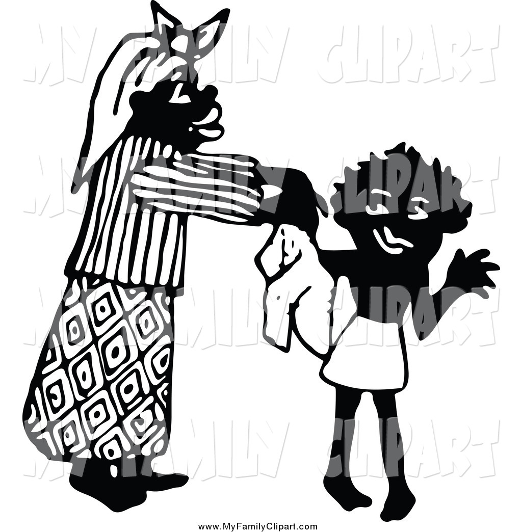 Black Mother Clipart