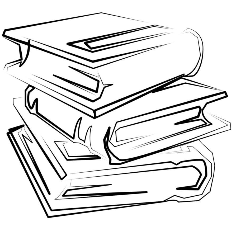 Book Outline Clipart | Free download on ClipArtMag (894 x 894 Pixel)