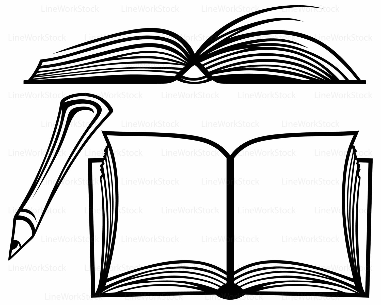 Collection Of Open Book Clipart