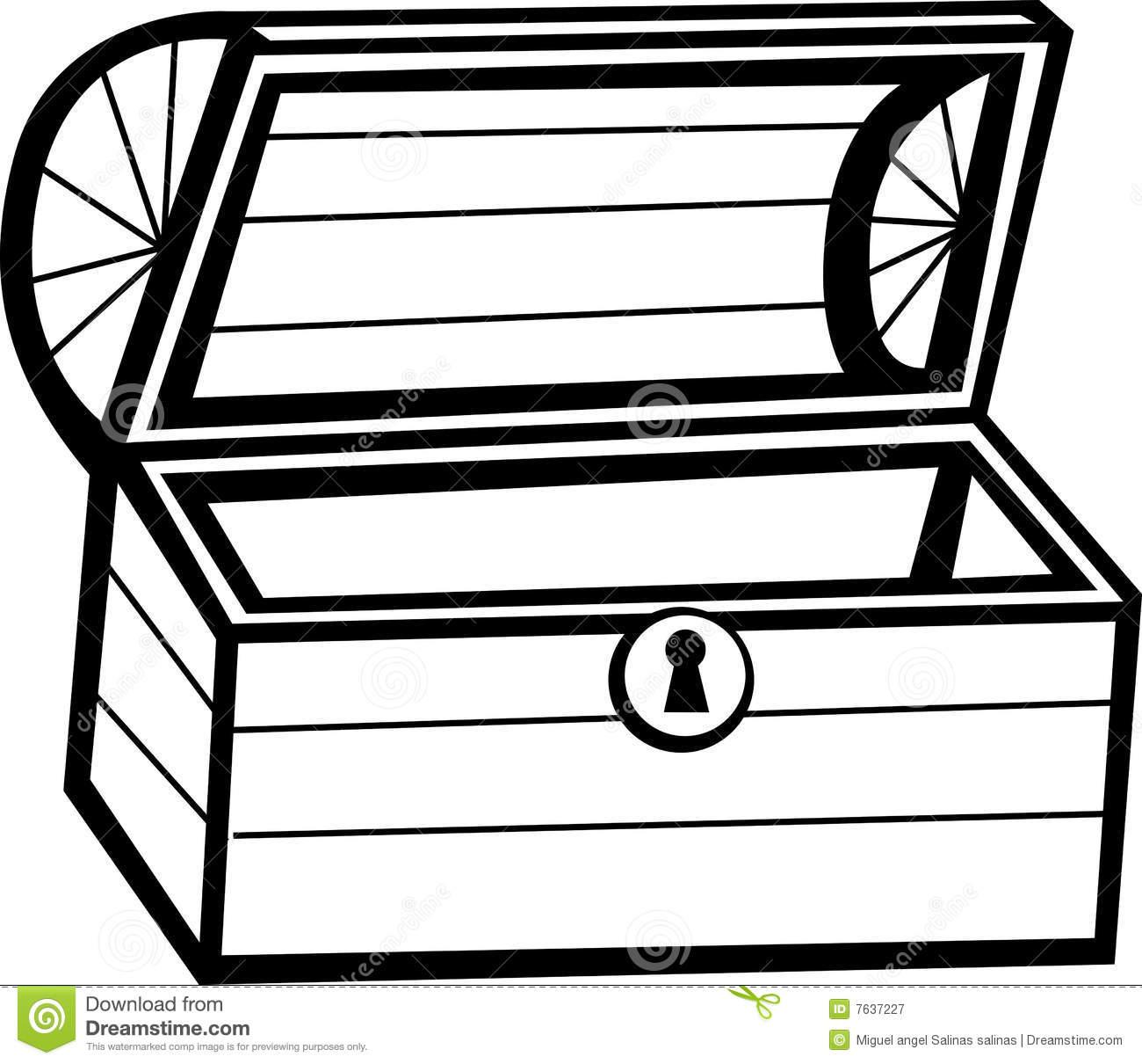 Box Clipart Black And White