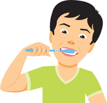 Brushing My Teeth   Free download best Brushing My Teeth on     210x203 Toothbrush clipart nag