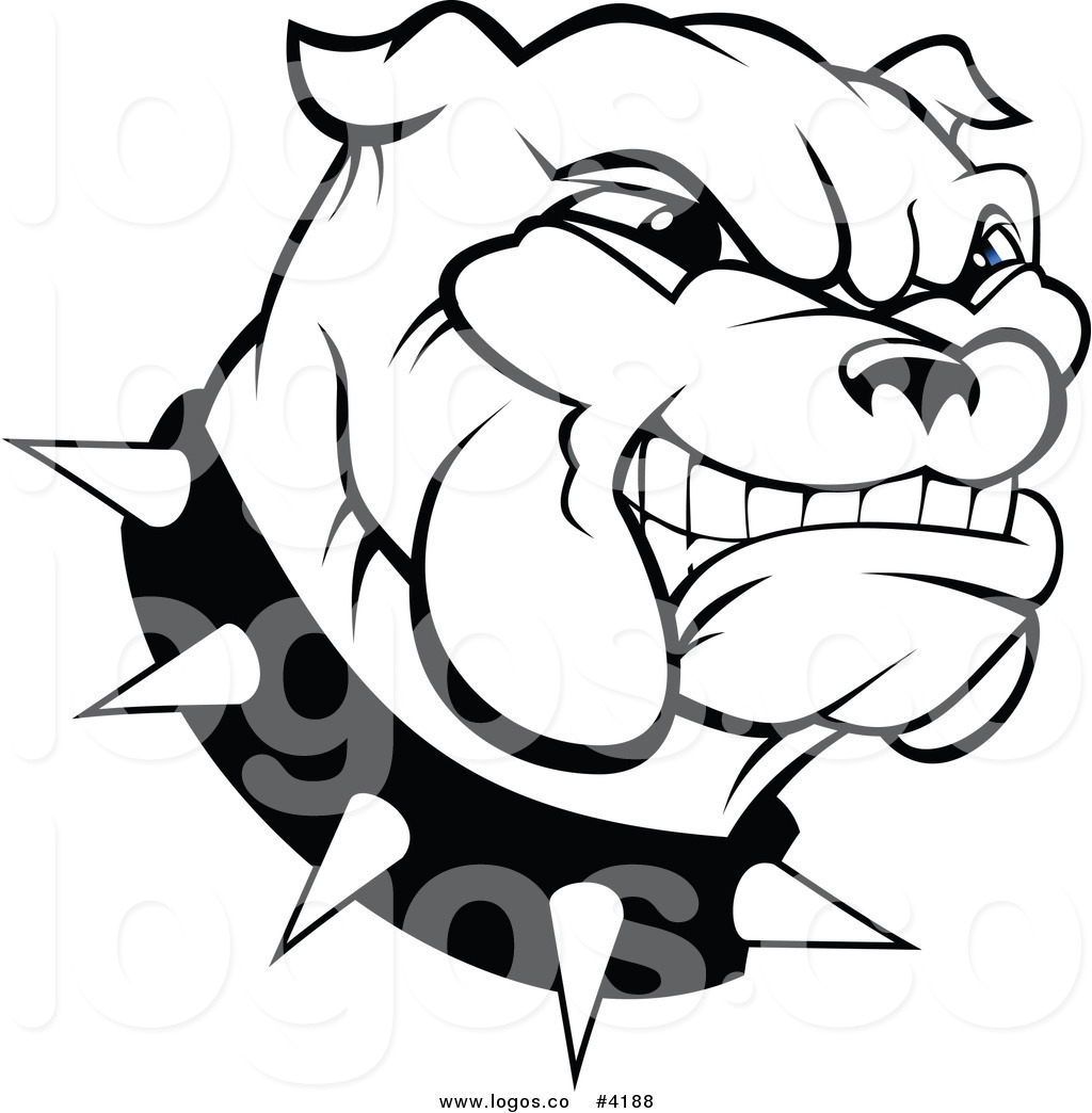 Bulldog Clipart Black And White