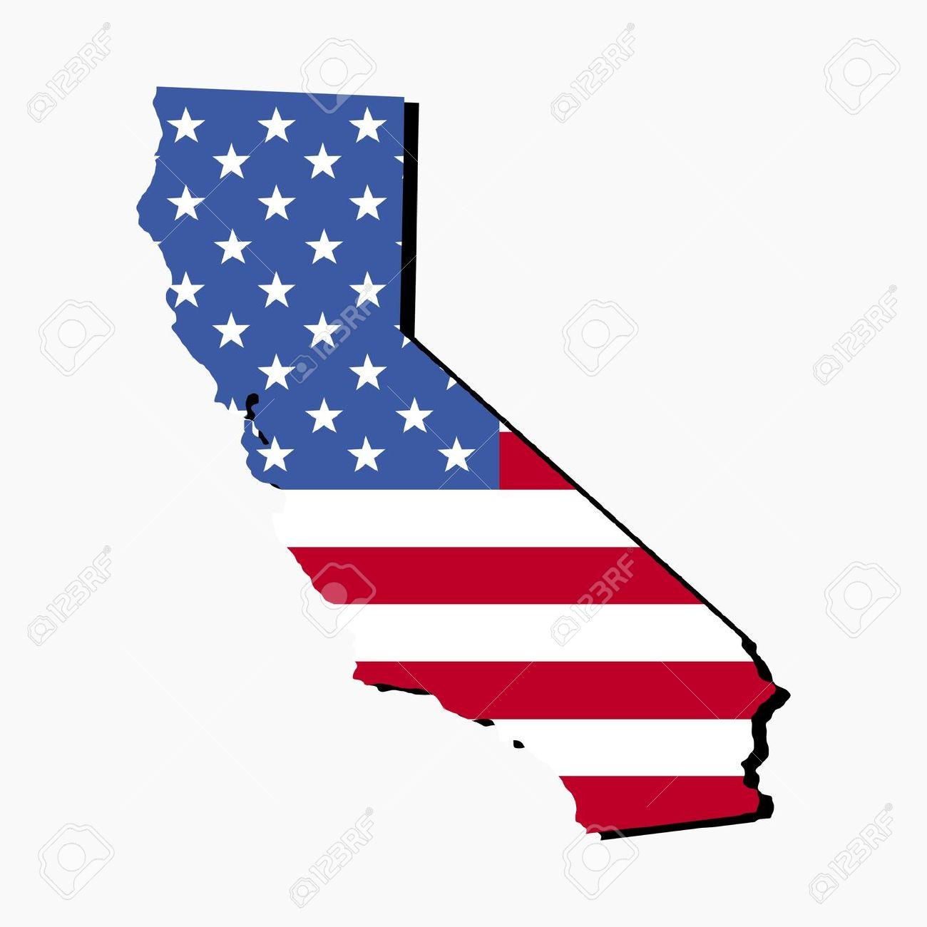 California Map Outline
