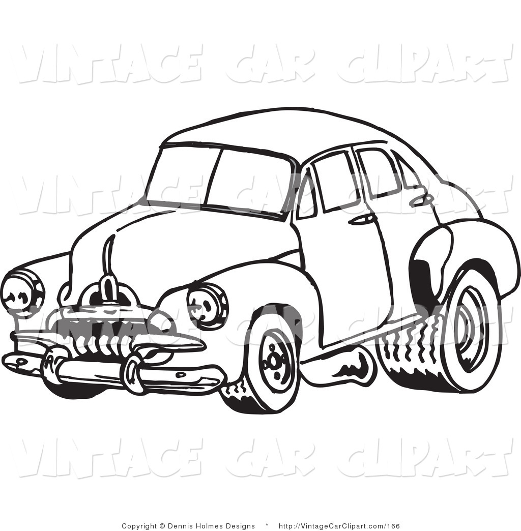 Cars Clipart Black And White