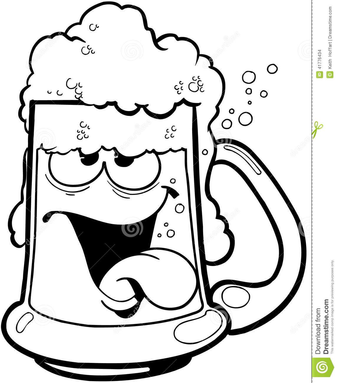 Cartoon Beer Mug Clipart