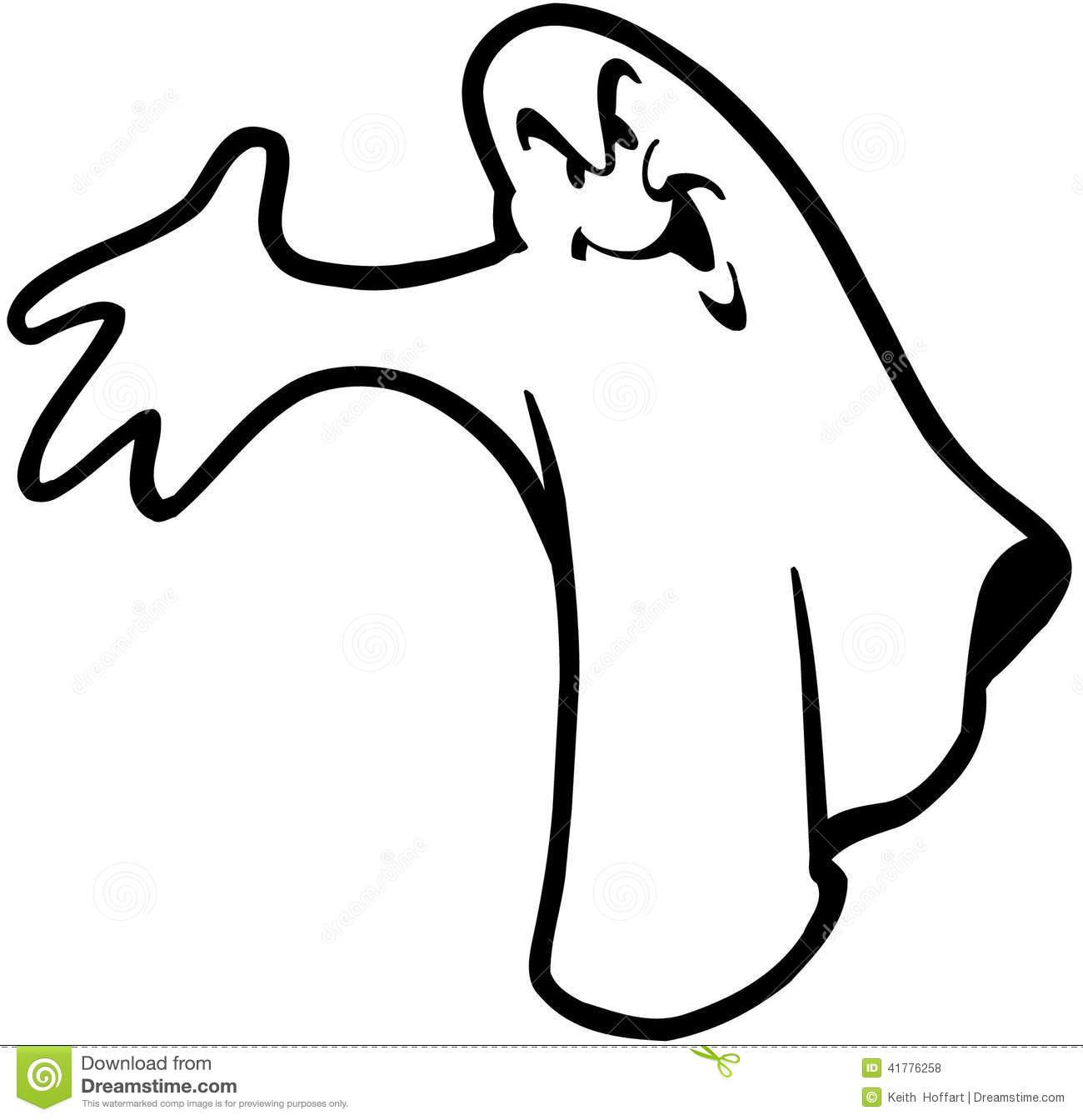 Cartoon Ghost Clipart