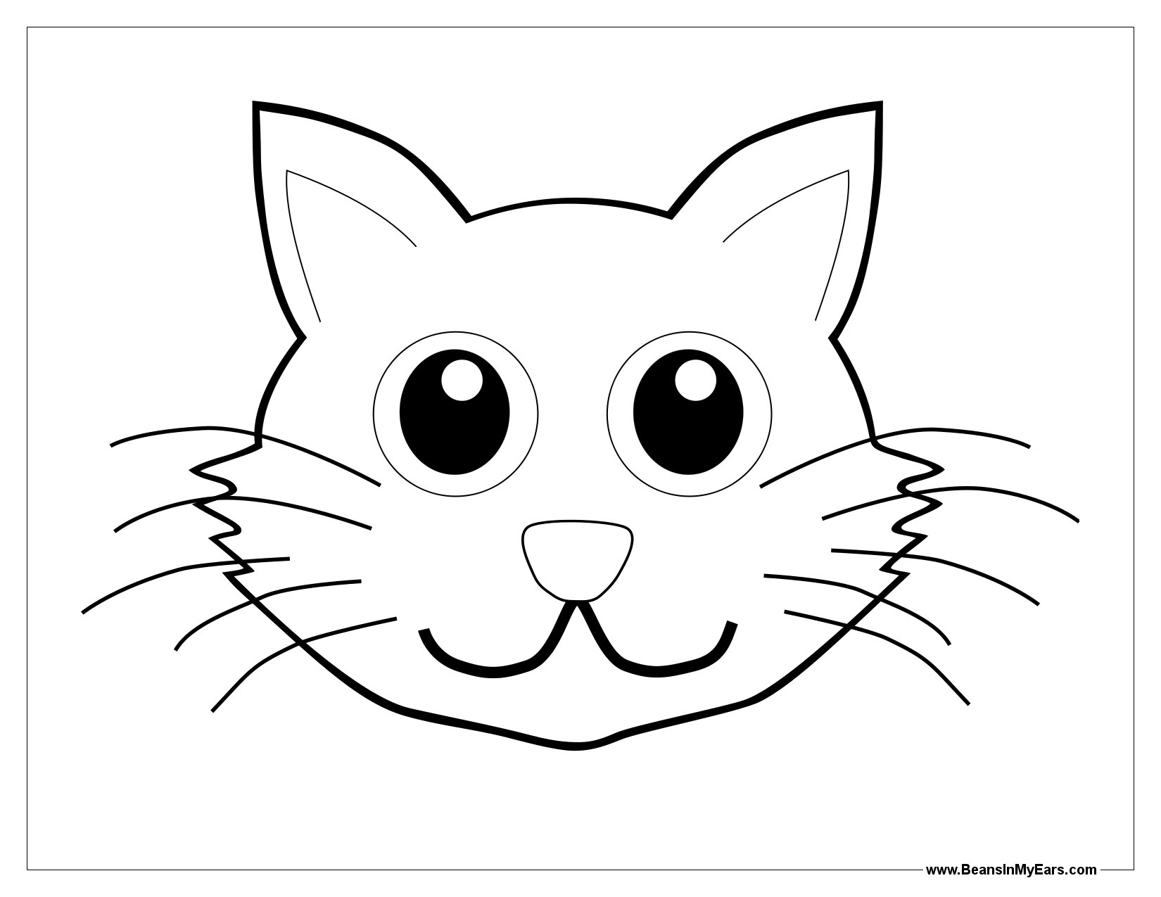 Cat Ears Clipart
