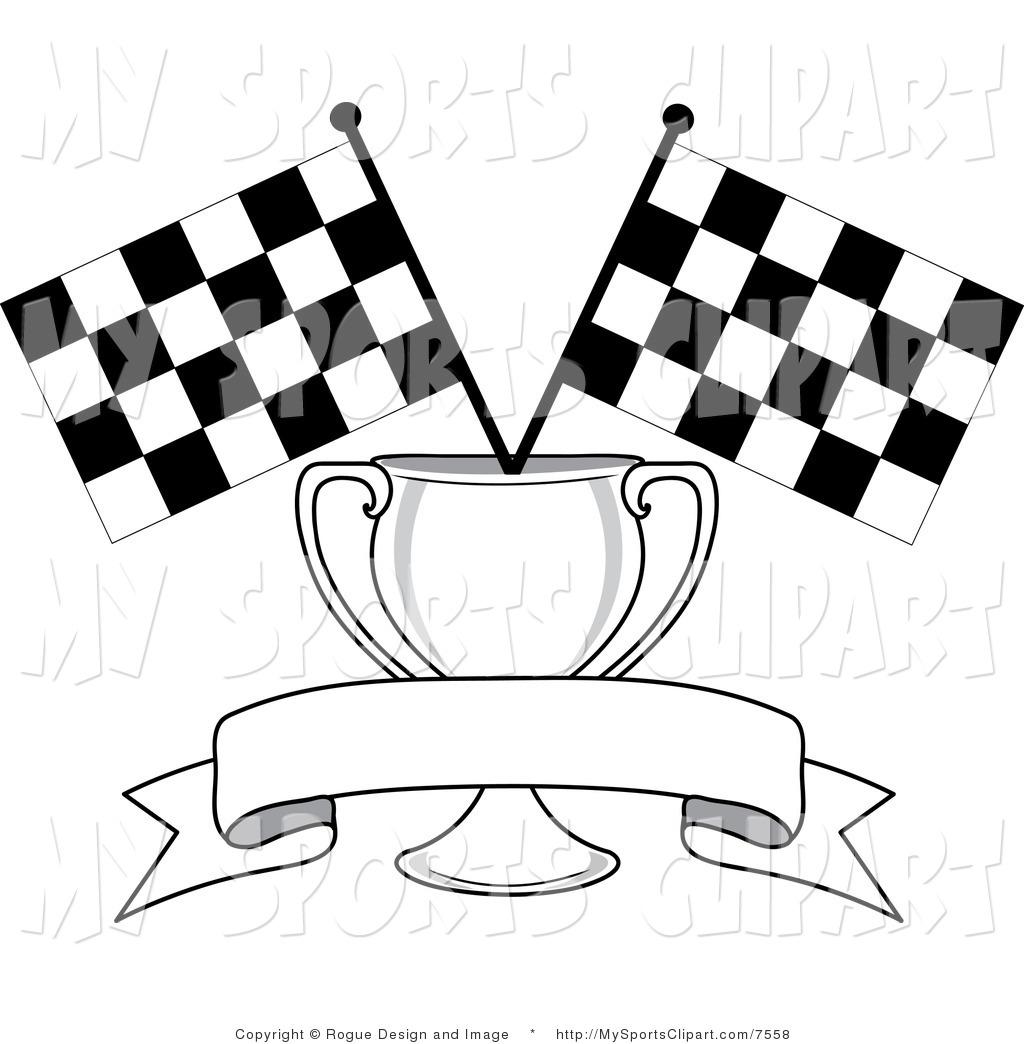Checkerboard Border Clipart