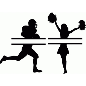 Download Cheerleading Silhouette Clipart | Free download on ClipArtMag