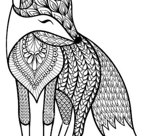 Coloring Pages Animals For Adults Free Download On Clipartmag