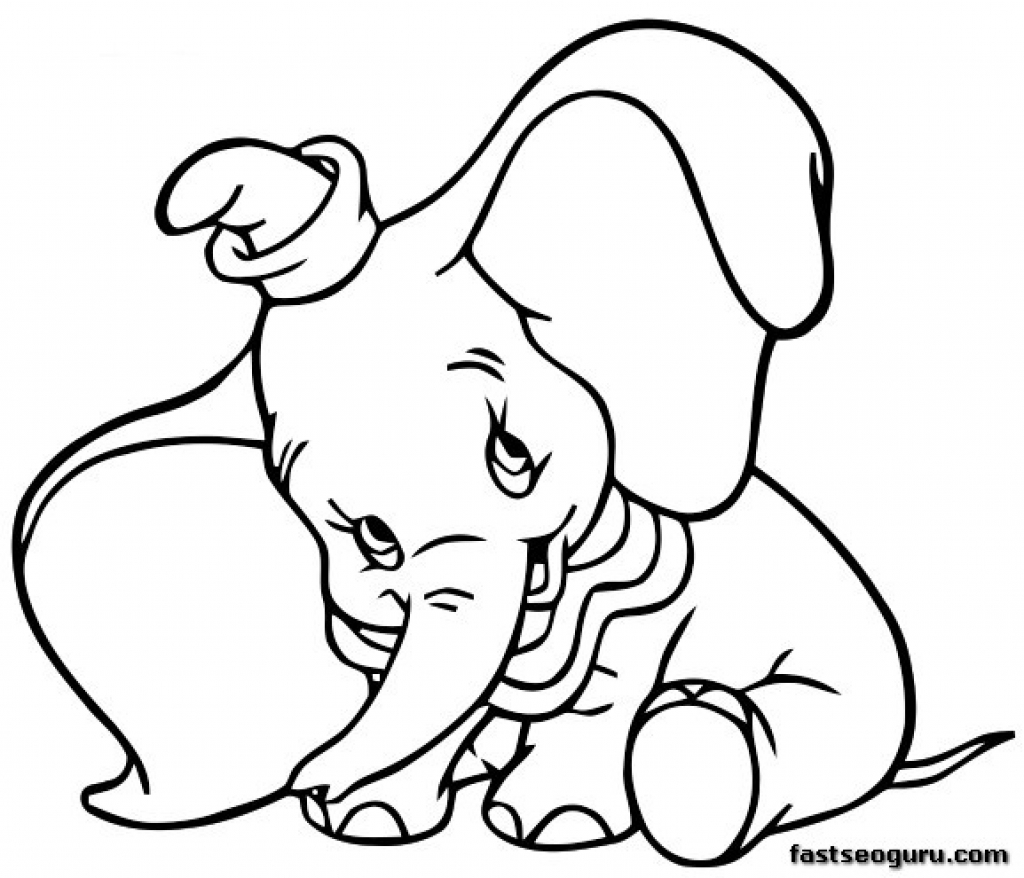 Coloring Pages For 3 Year Olds