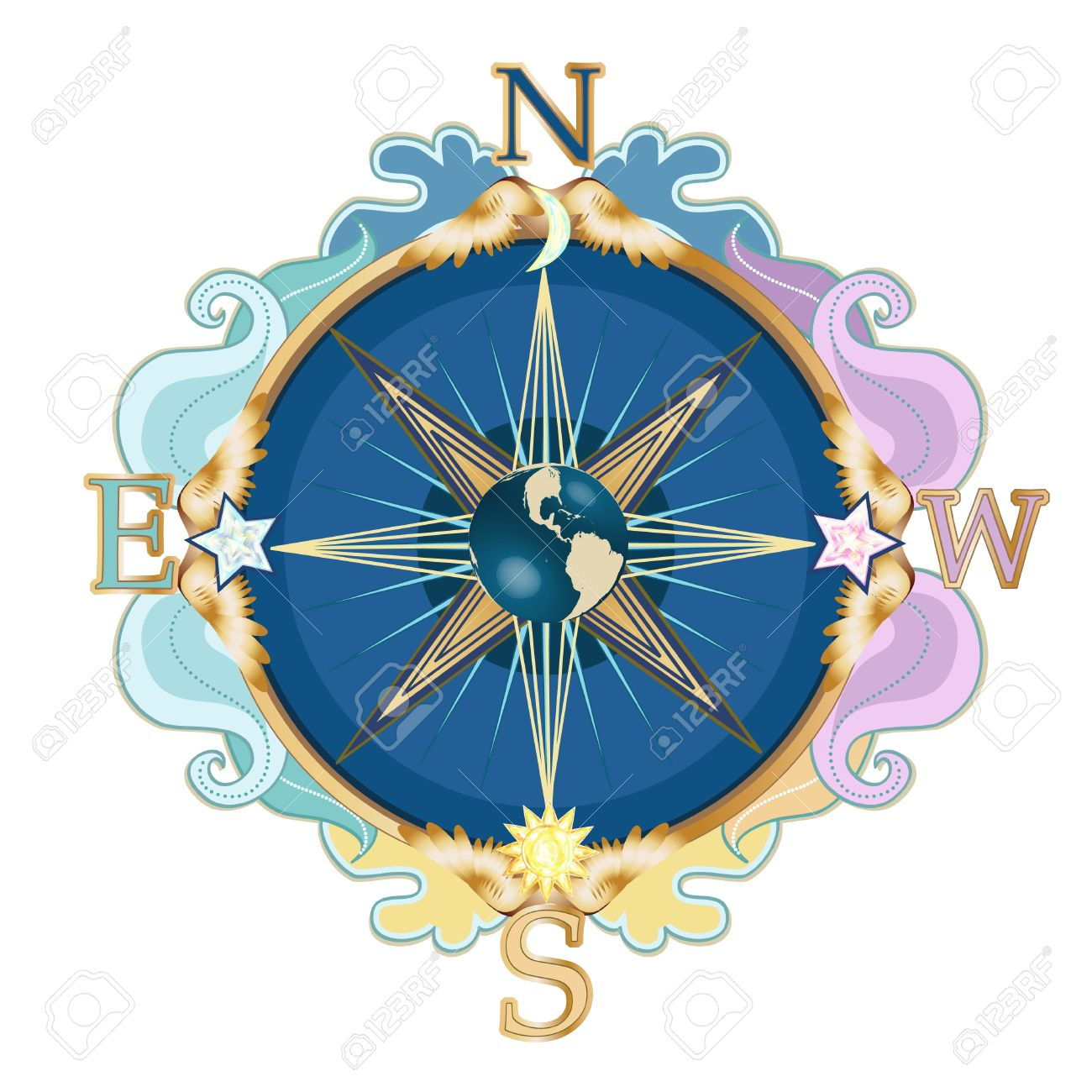 Compass Rose Images