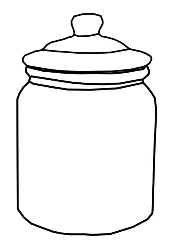 Jelly Bean Jar Template