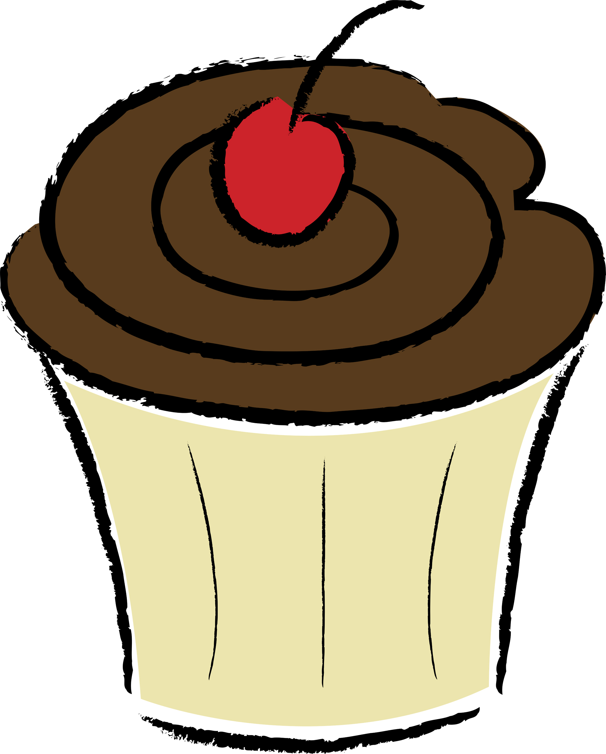 Cupcake Silhouette Clipart   Free download on ClipArtMag (1930 x 2400 Pixel)