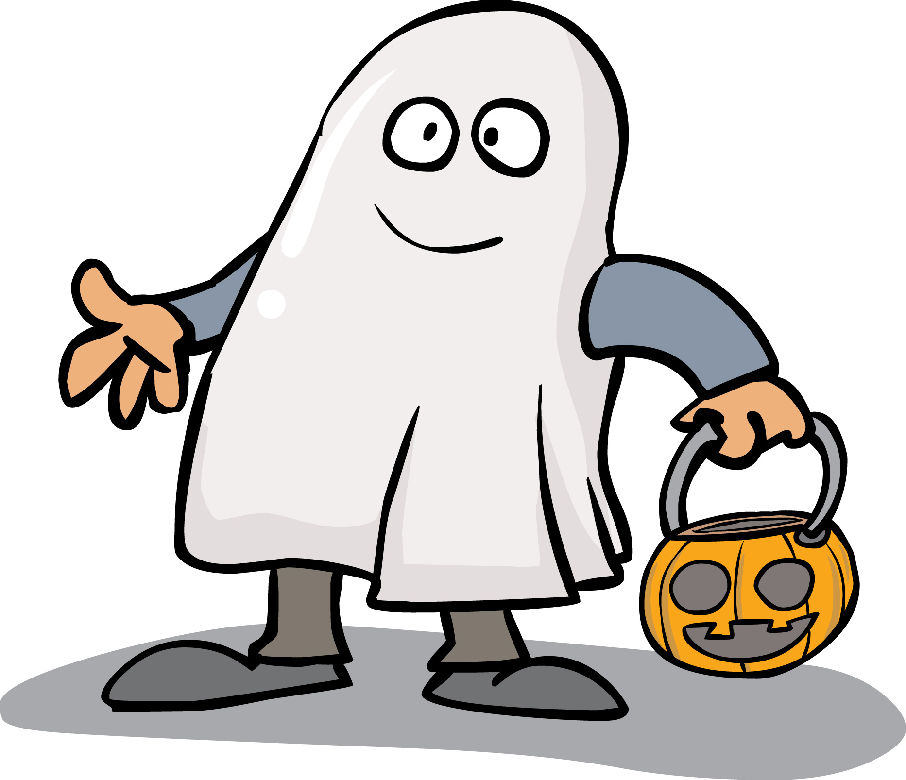 Cute Halloween Ghost Clipart   Free download on ClipArtMag (1865 x 1606 Pixel)