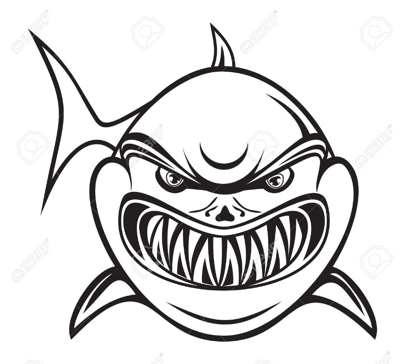 Cute Shark Clipart