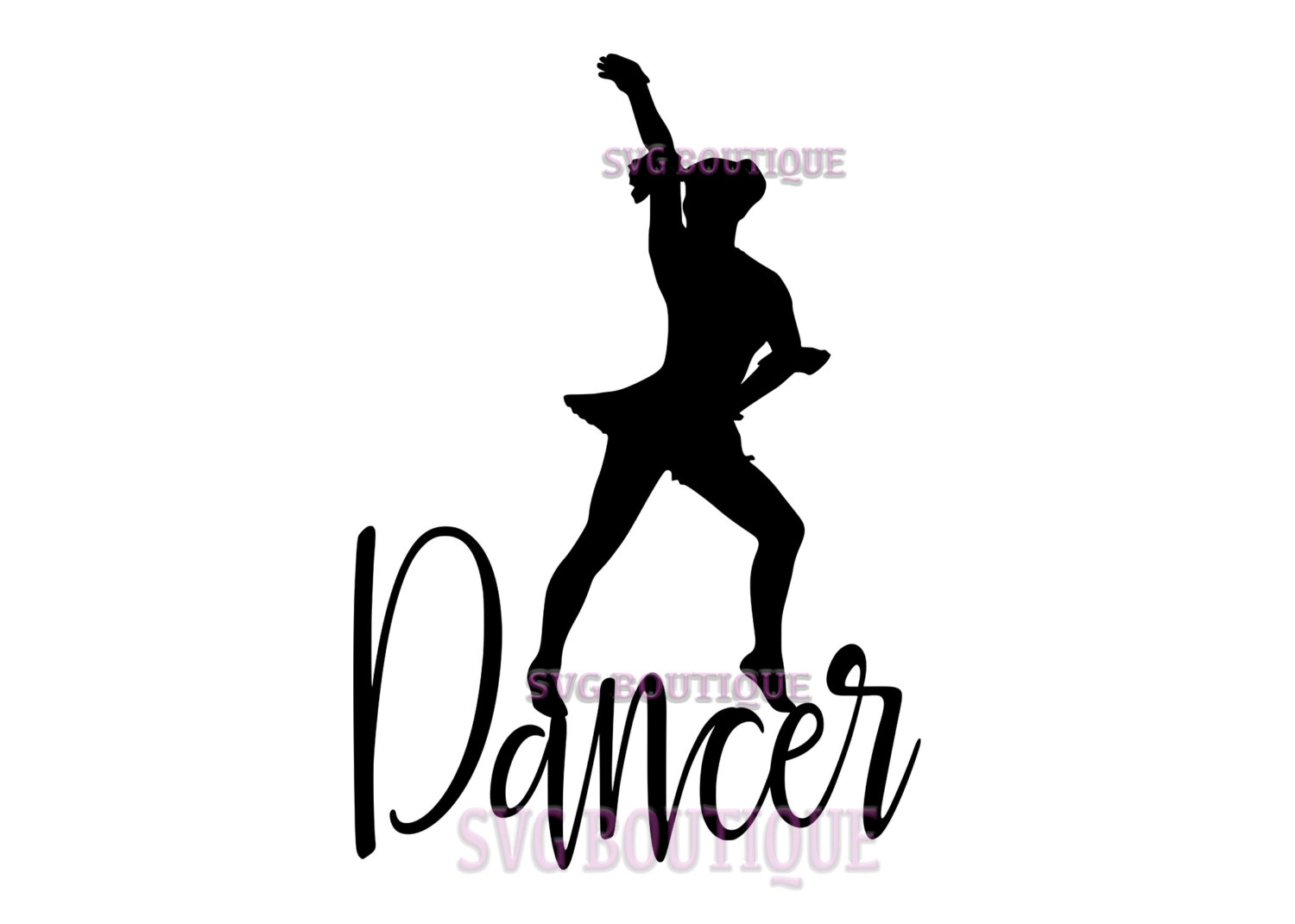 Dance Silhouettes Clipart