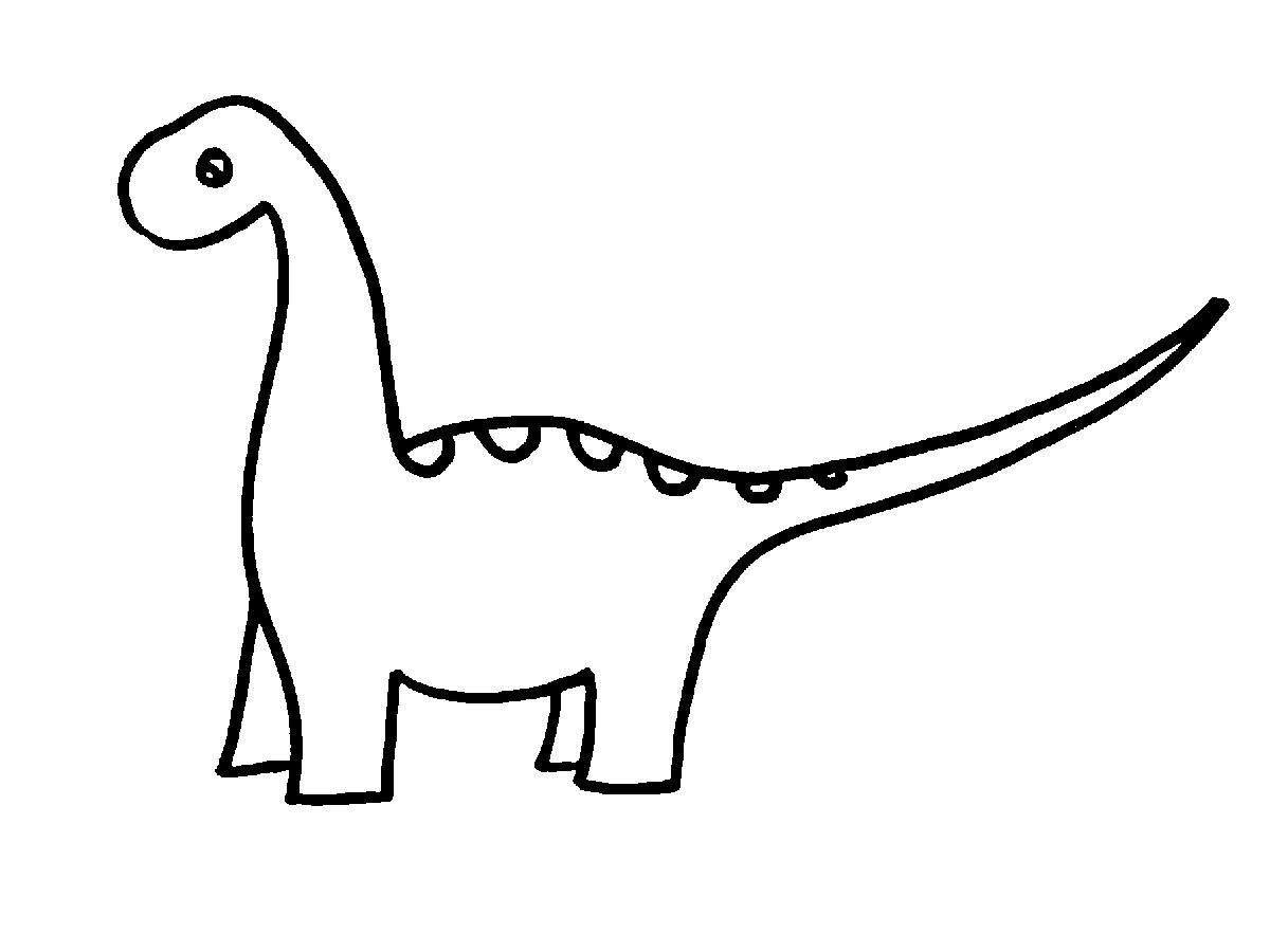 Dinosaur Outline