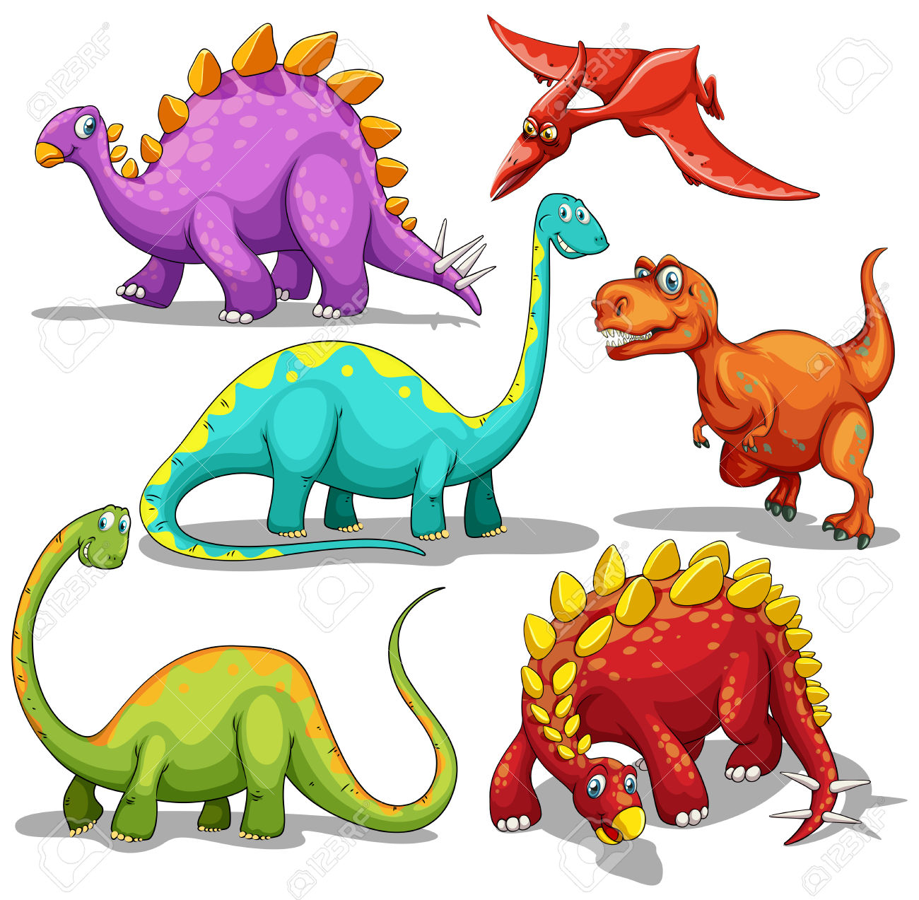 Dinosaurs Clipart | Free download on ClipArtMag (1300 x 1273 Pixel)