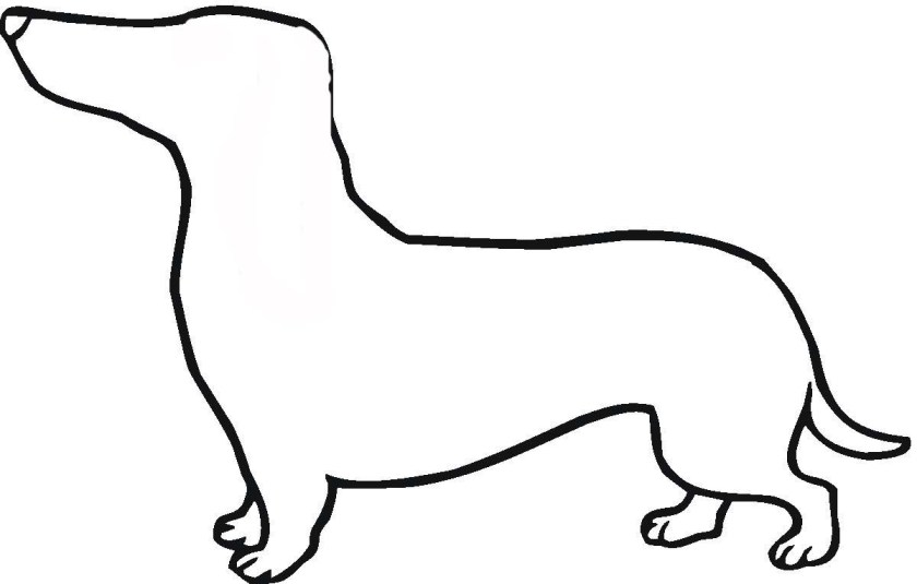 dogs outline  free download on clipartmag