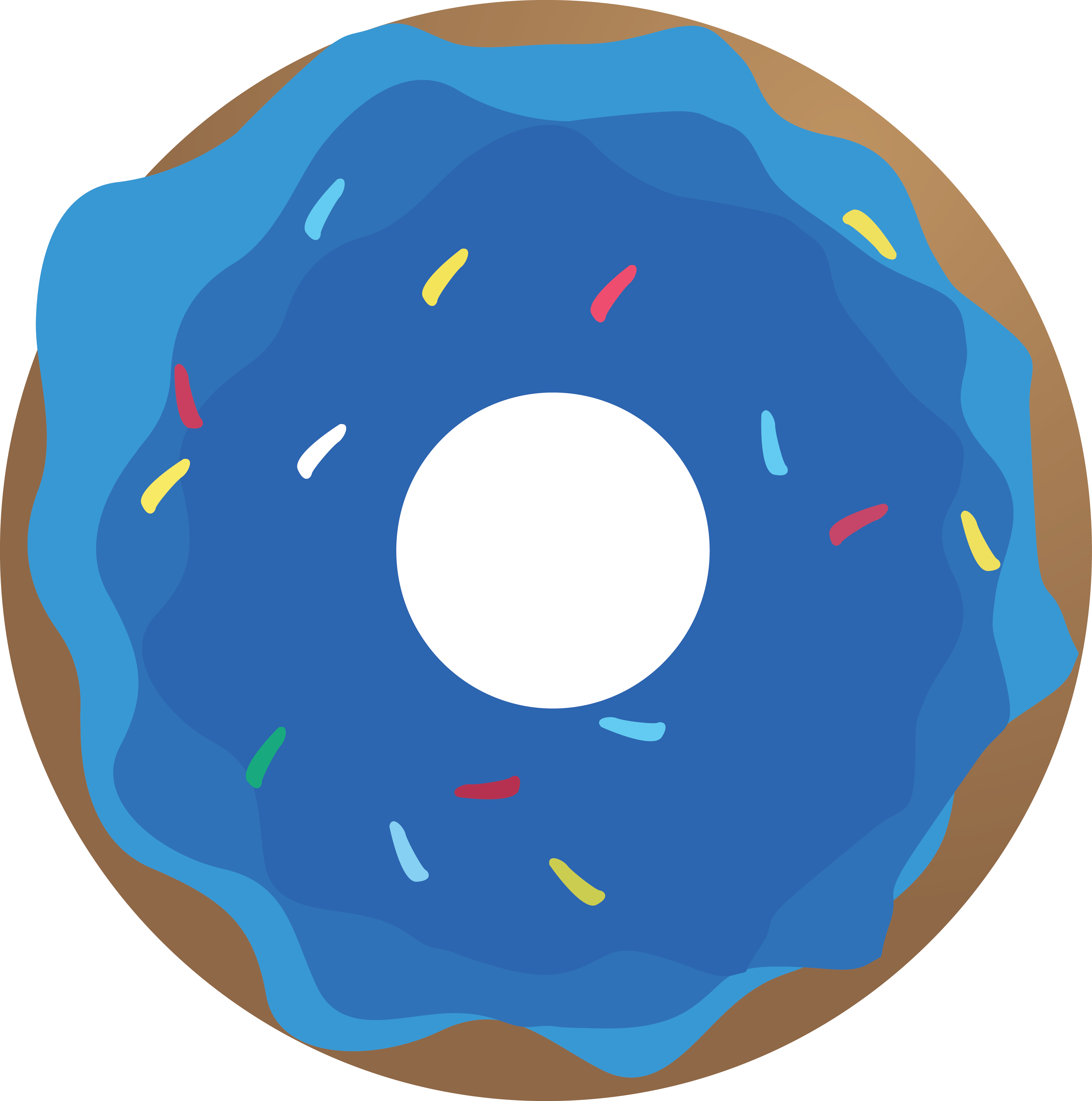 Doughnut Clipart | Free download on ClipArtMag (4405 x 4442 Pixel)