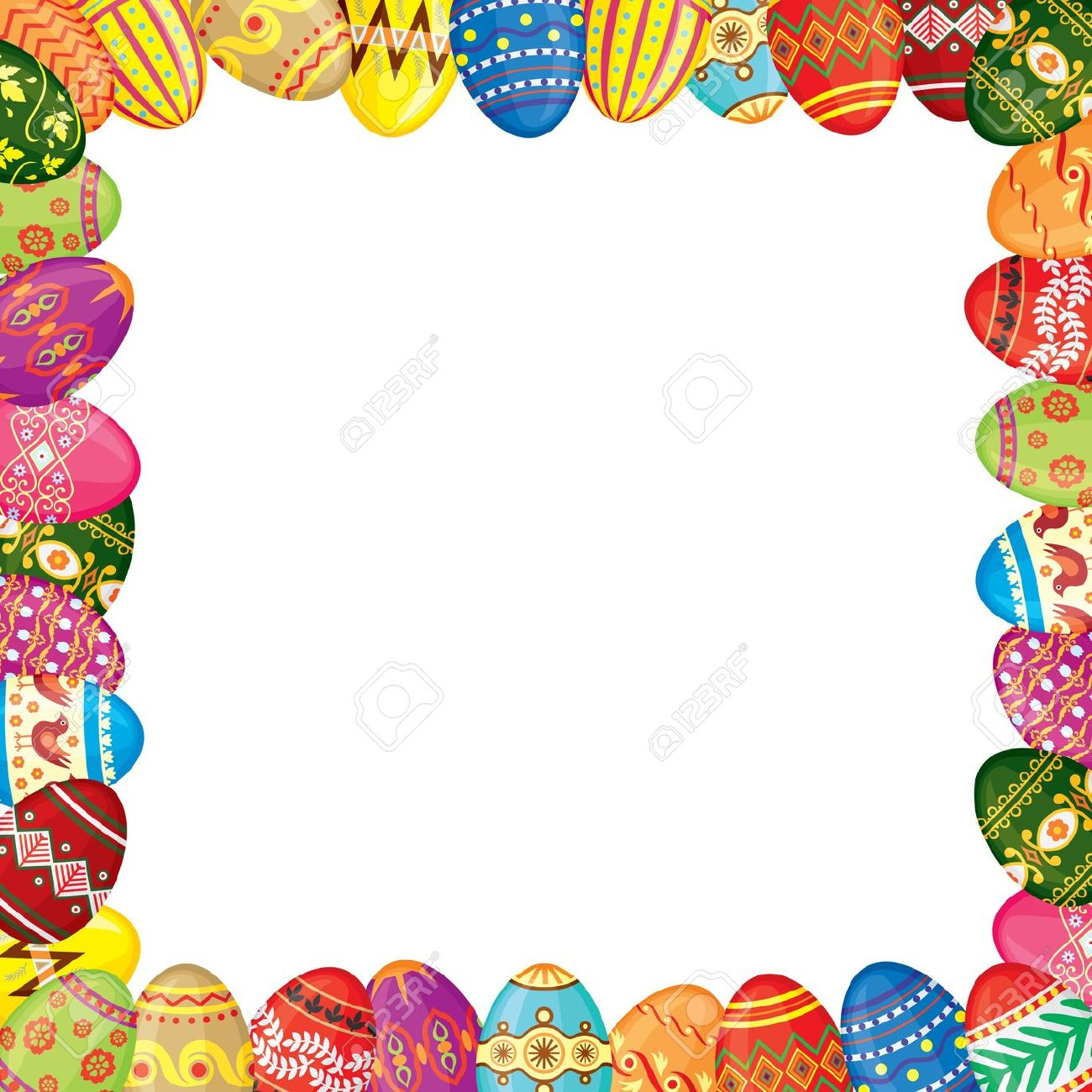 Easter Border   Free download on ClipArtMag (1300 x 1300 Pixel)