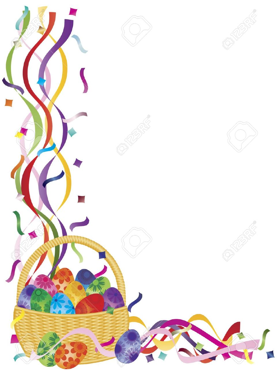 Easter Border   Free download on ClipArtMag (962 x 1300 Pixel)