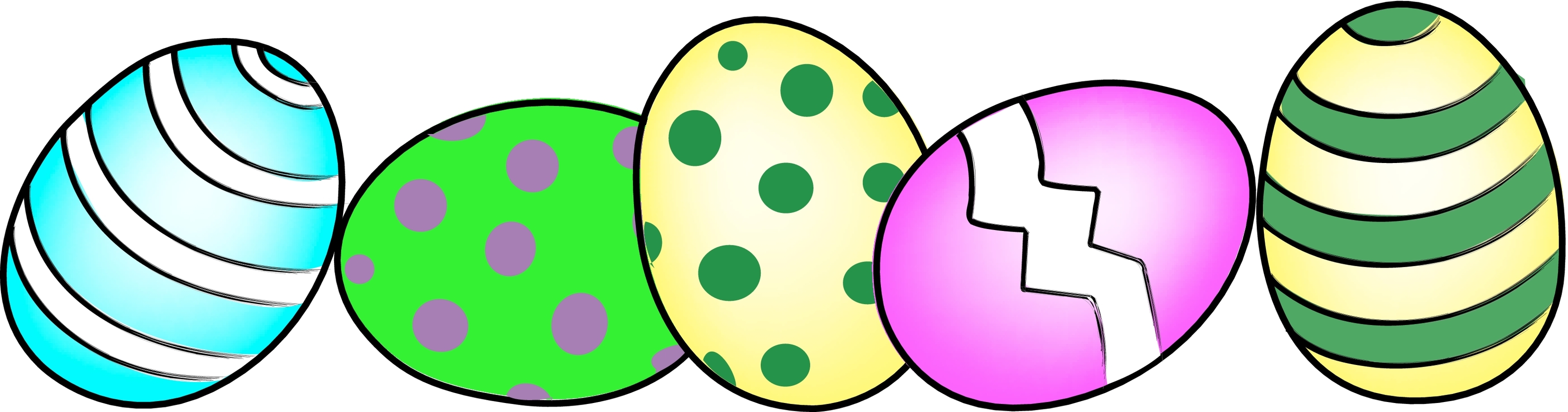 Easter Border Clipart   Free download on ClipArtMag (3135 x 824 Pixel)