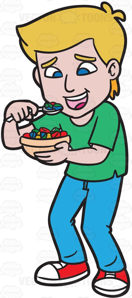 Eating Breakfast Clipart | Free download on ClipArtMag (453 x 1024 Pixel)