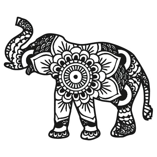 coloring pages elephant # 18