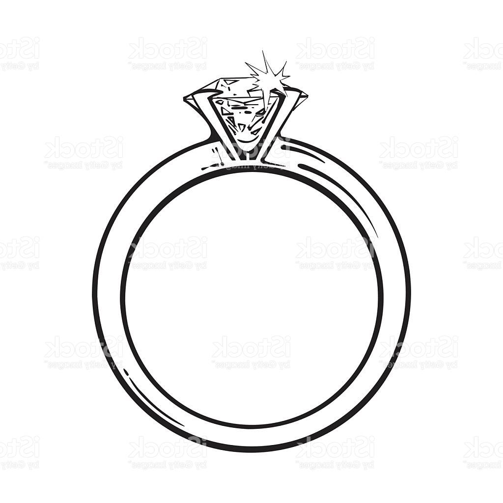 Engagement Ring Vector