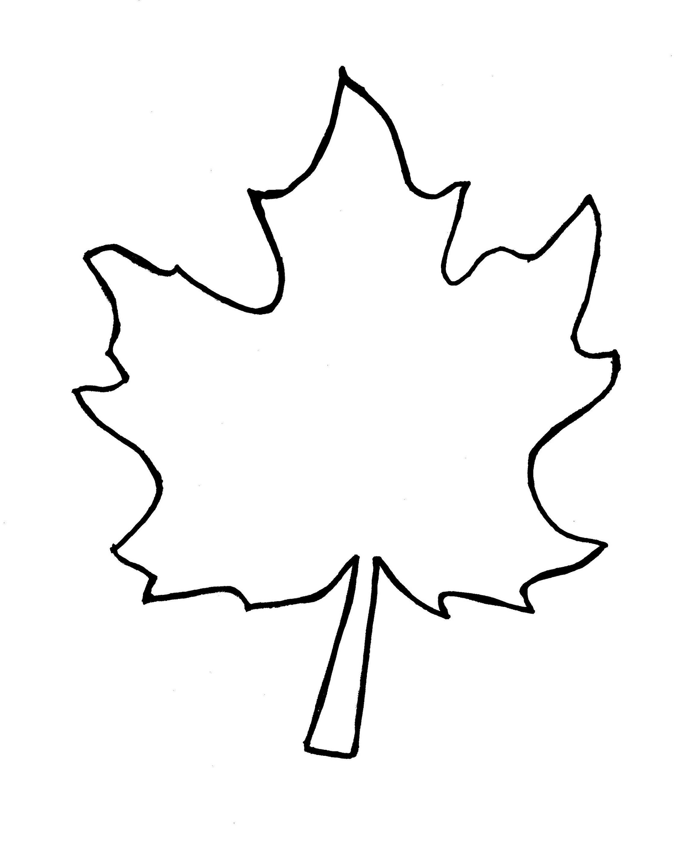 Fall Tree Clipart Black And White