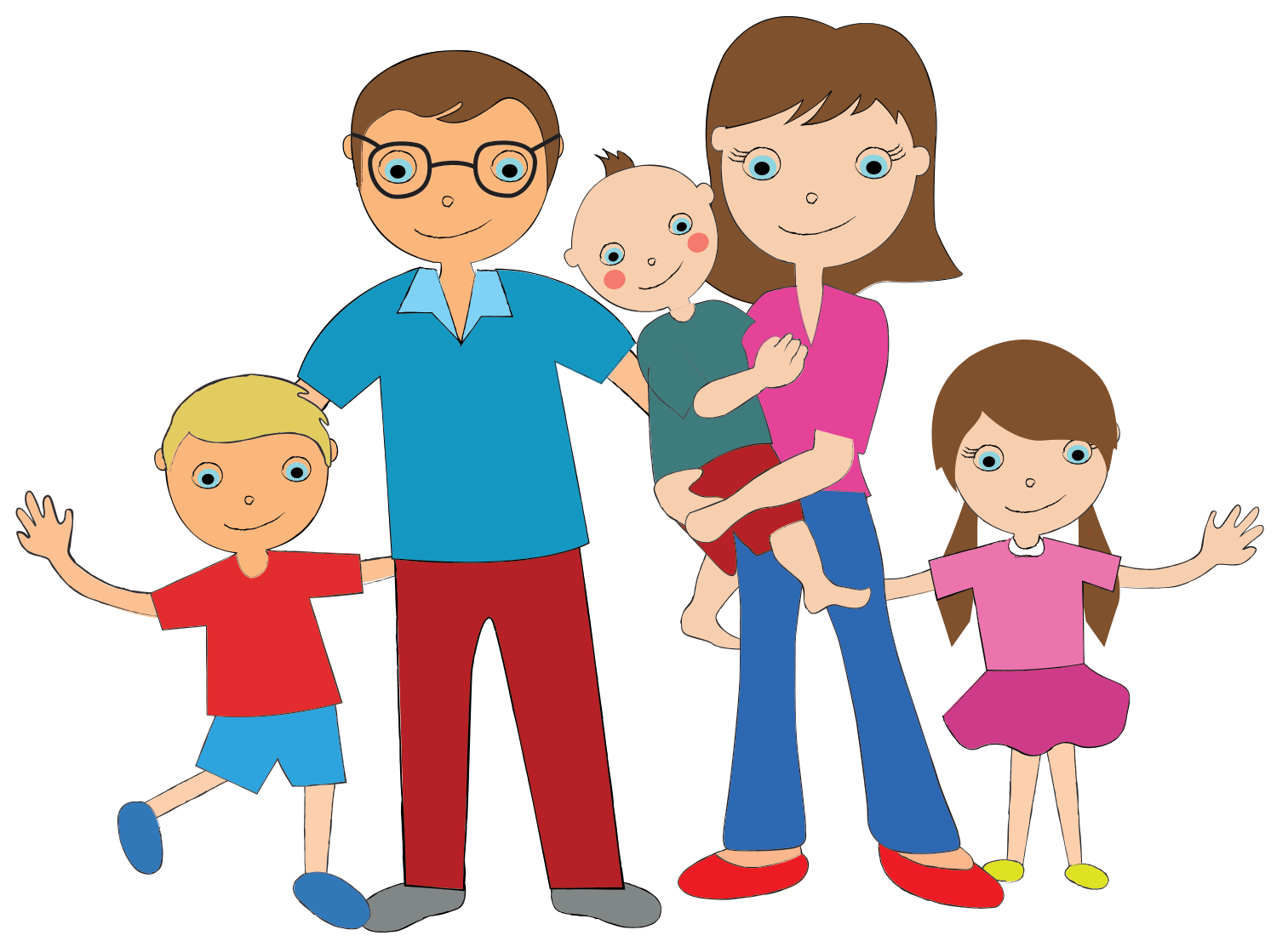 Family Members Clipart