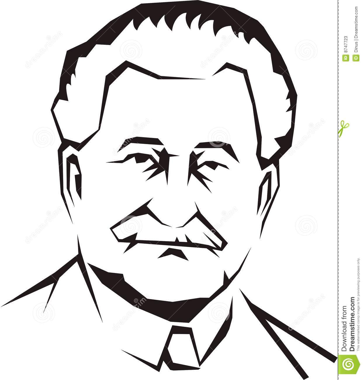Father Face Clipart
