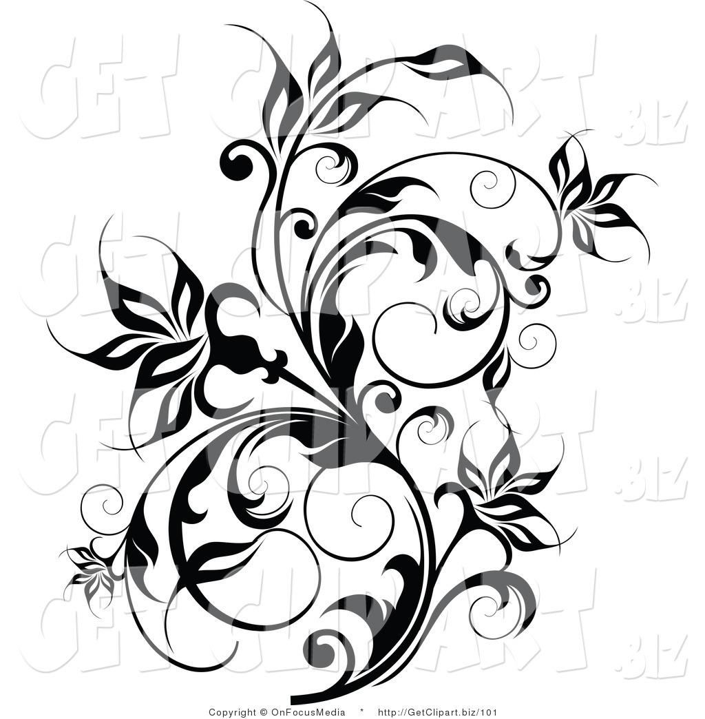 Flower Vine Clipart