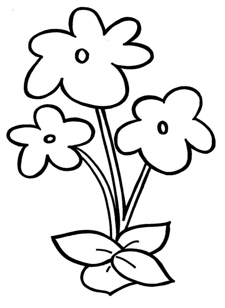 Images Of Simple Flowers To Draw Kayaflower Co