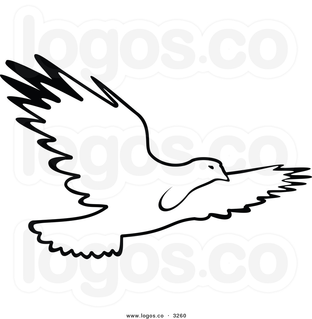 Flying Hawk Clipart