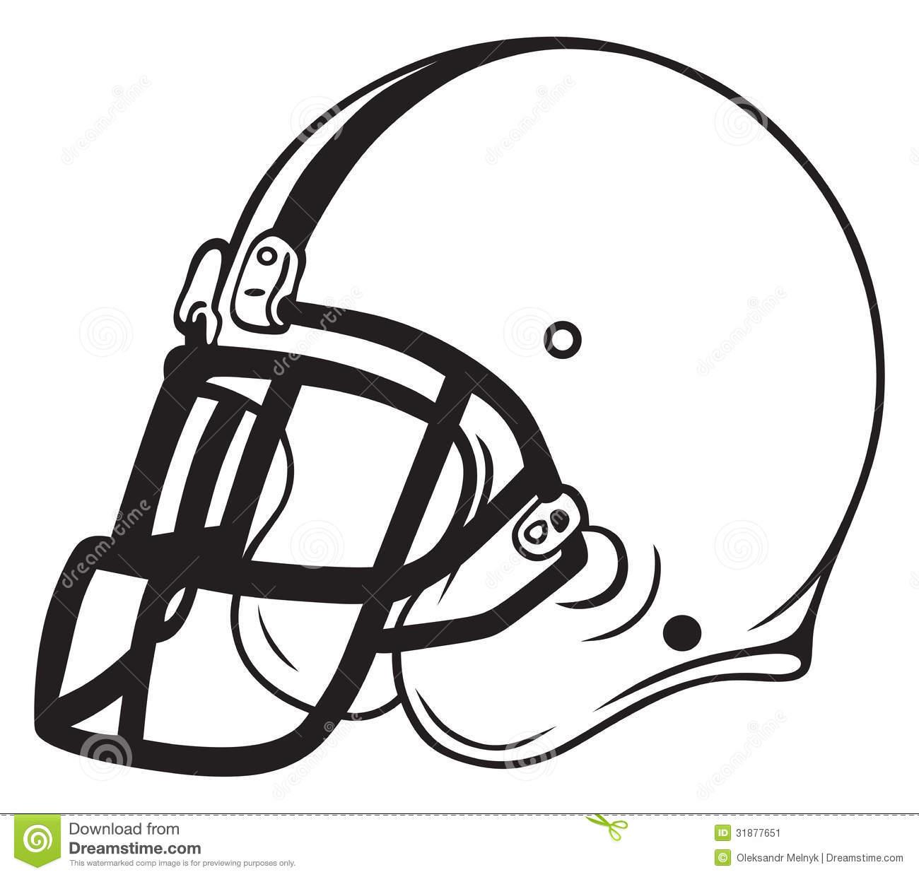 Football Outline Clipart