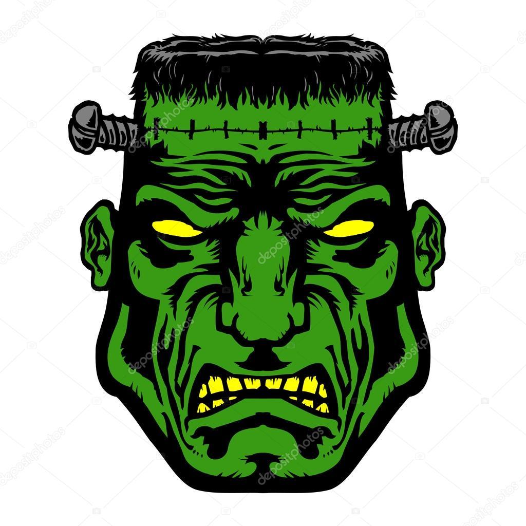 Cute Halloween Frankenstein Clip Art