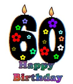 Free 60th Birthday Clipart | Free download on ClipArtMag (236 x 273 Pixel)